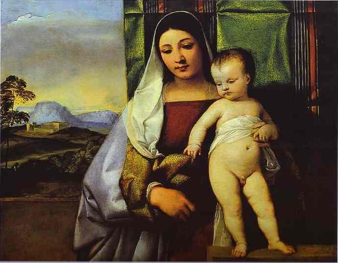 Gypsy Madonna Titian