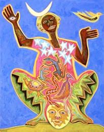 Healer, by Betty LaDuke
