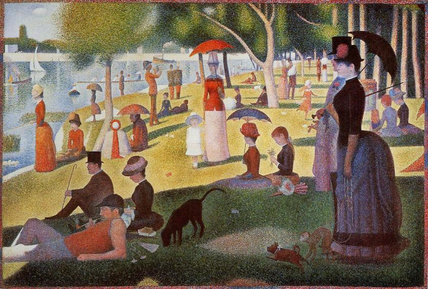 A Sunday Afternoon on the Island of La Grand Jatter - Georges Seurat