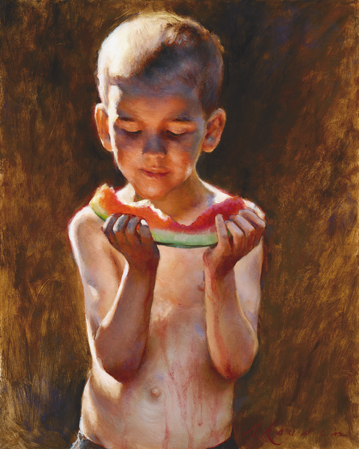 August Watermelon Nathaniel Skousen
