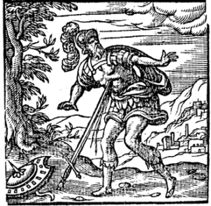 Brutus-falling-on-his-sword-in-Macbeth-aka-Playing-the-Roman-Fool-300x293